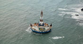 grounded-drillship