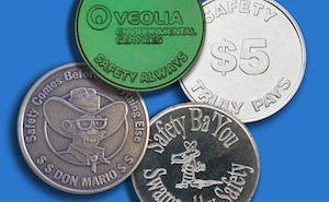 Custom Safety Coins from Osborne