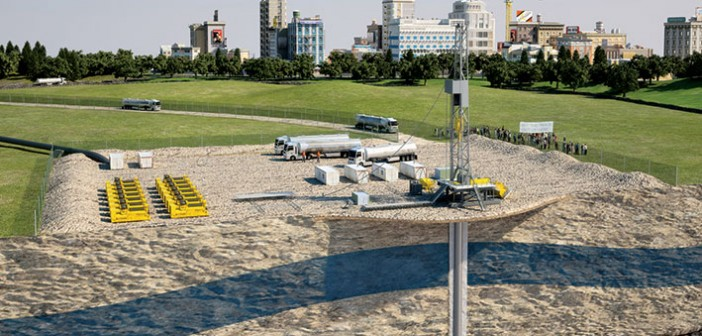 By introducing the element of independent verification, DNV's recommended practices will help build trust among shale gas stakeholders. (© DNV/Lasse Danielsen & John McKay, Render)
