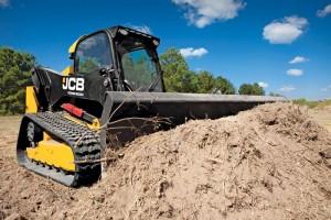 JCB equipment for erosion control