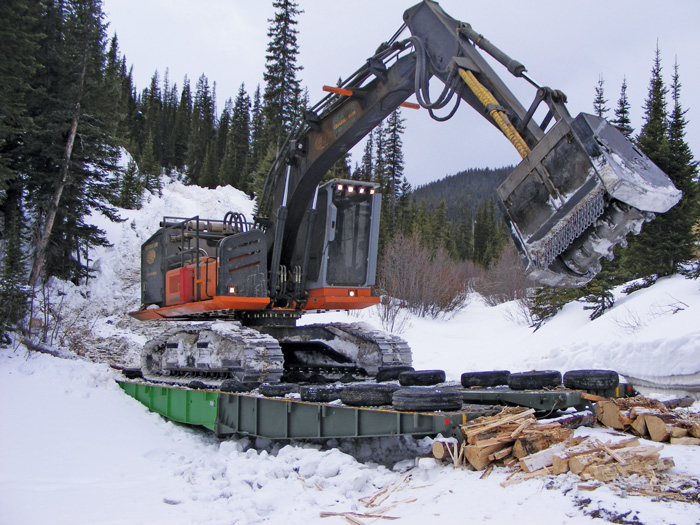 Excavator-based mulcher