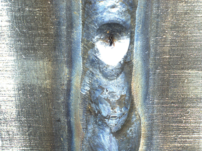 Checking a Welded Joint