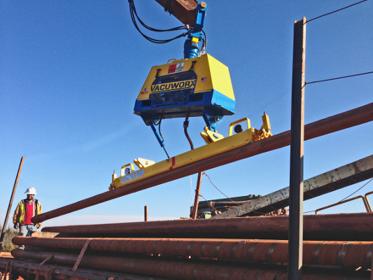 Vacuworx Launches New HDD Pipe Handling System