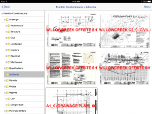 Project Plan Room is the latest mobile app for the construction industry by Dexter + Chaney.