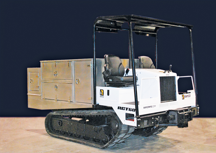 The new RCT60 Field Service Truck from Rayco