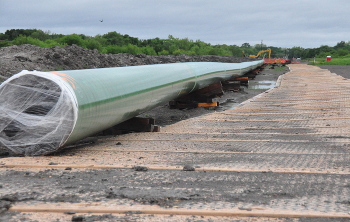 Advanced-Composite  Matting Systems Enhance Pipeline Safety