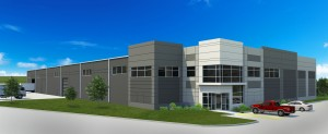 A rendering of the planned PRCI Technology Development Center being built in Houston.