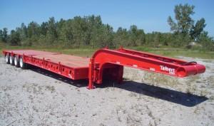 60-ton, 4-axle trailer