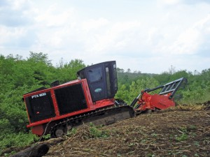 The FTX600 is the newest track carrier in Fecon's lineup.
