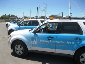 PG&E's cutting-edge gas-sniffing vehicles are 1,000 times more sensitive than traditional gas-sniffing equipment.