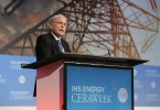 IHS Vice Chairman, Daniel Yergin addresses delegates at IHS CERAWeek 2014 in Houston. (Photo courtesy of IHS.)
