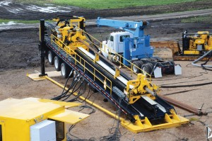 Maxi-rigs play a large role in Vermeer's offerings to the pipeline sector.