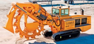 Trenchers and Equipment Inc. Eagle 7500 Wheel Trencher