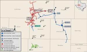 Enlink-Midstream-Coronado-Map