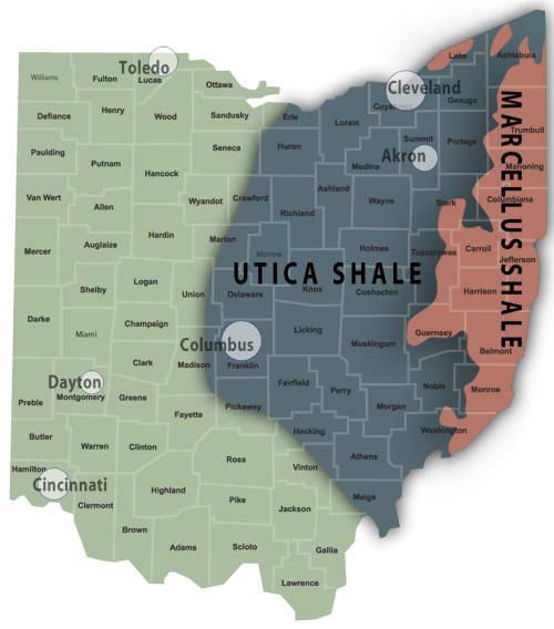 Ohio Shale Production Rose in Fourth Quarter 2014