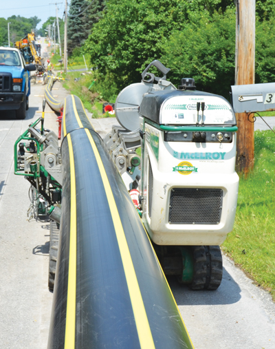 Maine-Lining Natural Gas