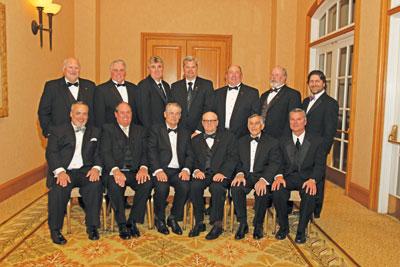 The PLCA board of directors. (Photo courtesy of Ben Arnold.)