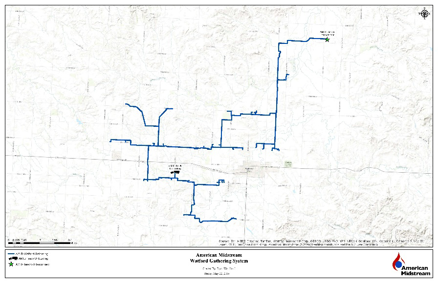 American-Midstream-Bakken-Crude-Map | North American Oil
