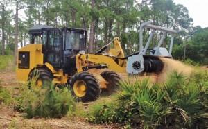 Supertrak SK170RTL Mulching Tractor and SK350PP Power Packs