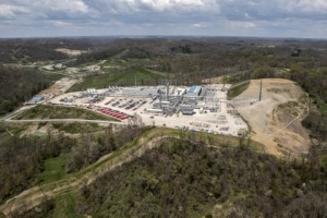 Blue Racer Midstream's Berne Natural Gas Processing Complex in Monroe County, Ohio, serves producers in the Utica shale. (Photo: Business Wire)