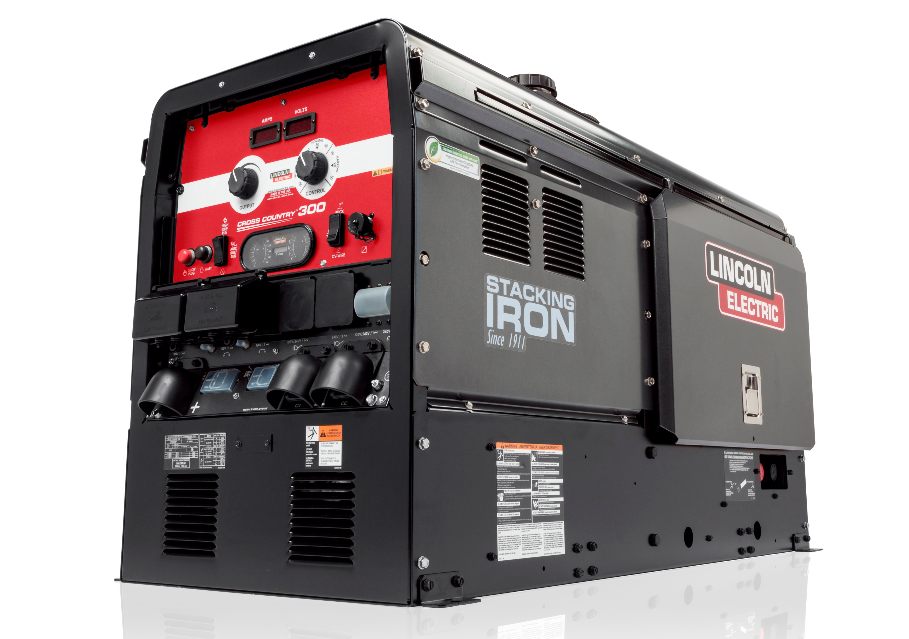 Pipeline Welding Trucks >> Lincoln Electric Unveils Cross Country 300