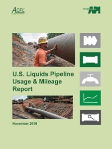 2015 U.S. Liquids Pipeline Usage & Mileage Report by AOPL