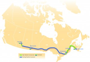 The proposed route of Energy East pipeline will be amended after public input.