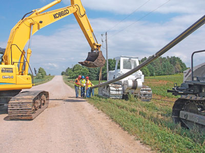 Rural areas provide strong growth potential for the installation of new gas pipeline distribution systems to serve customers that could not be served due to past cost constraints.