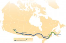 Energy East Route Map