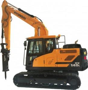 Hyundai HX140L excavator