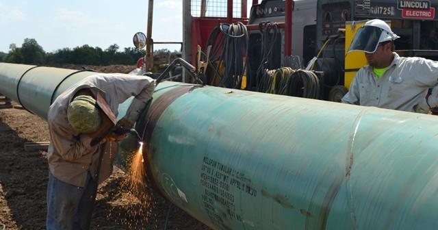 Seaway 2 Pipeline Welding