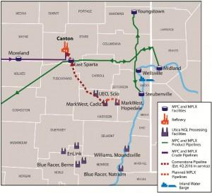 MPLX Cornerstone Pipeline