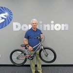 Dave McCurdy, AGA president and CEO, took part in a bike building session with other AGA members and Dominion employees during the Republican National Convention in Cleveland. A similar event took place in Philadelphia during the Democratic National Convention.