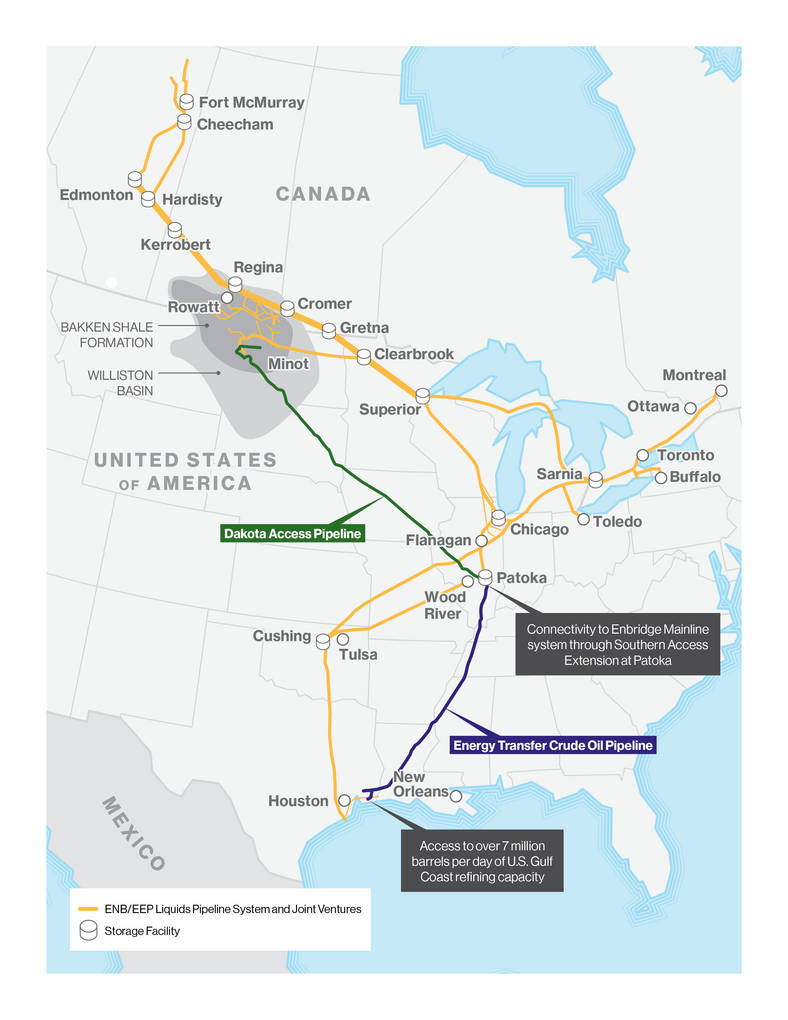 Enbridge Marathon to Pay 2B for Stake in Bakken Pipeline System