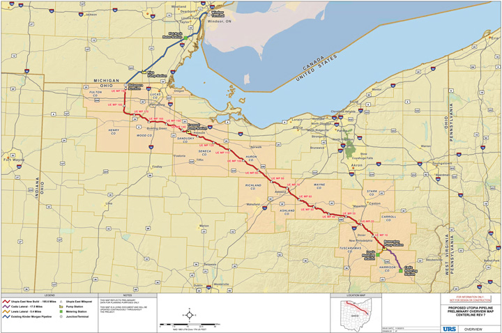 The Nexus Gas Transmission Project Was Designed To Address Pipeline Transportation Infrastructure Needs From The Marcellus