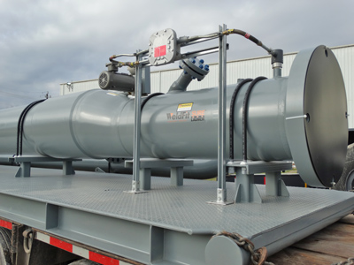 Any type pig can be loaded and launched in the WeldFit SureLaunch pigging system.