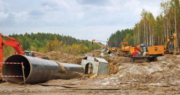 pipeline jobsite