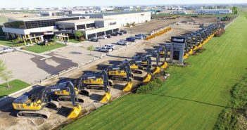 Aerial shot of Brandt Dealership
