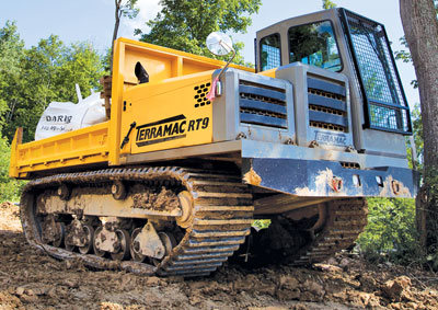 Over The Muck Crawler Carriers Overcome Tricky Terrain