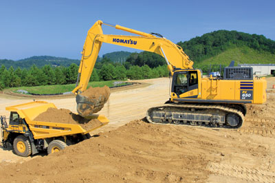 Dig and Load: Hydraulic Excavators 30,000 lbs and Up