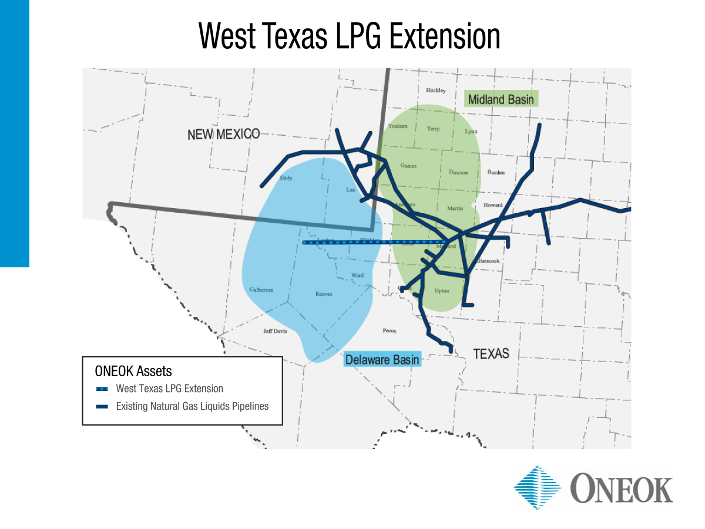 ONEOK Announces West Texas LPG System Expansion Into The Delaware Basin Part 78