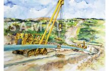pipeline project art print
