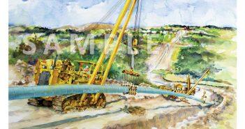 pipeline project art print