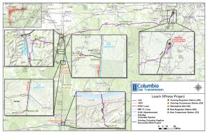 TransCanada Leach XPress Map