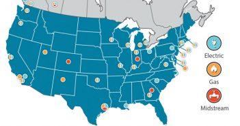 map of participants