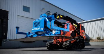 Vacuworx CM 3 on Ditch Witch SK1550