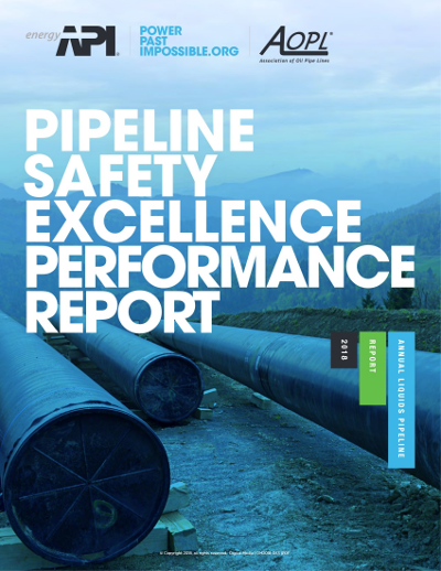 2018 Pipeline Safety Excellence Performance Report