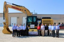 Michels Receives Caterpillar Excavator