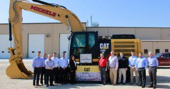 Michels Receives Caterpillar Excavator