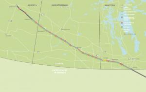 Enbridge Line 3 Replacement Map